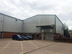 Burton on trent storage facility - Premier