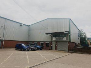 Burton on trent storage facility