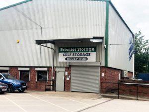 Burton on trent storage facility reception
