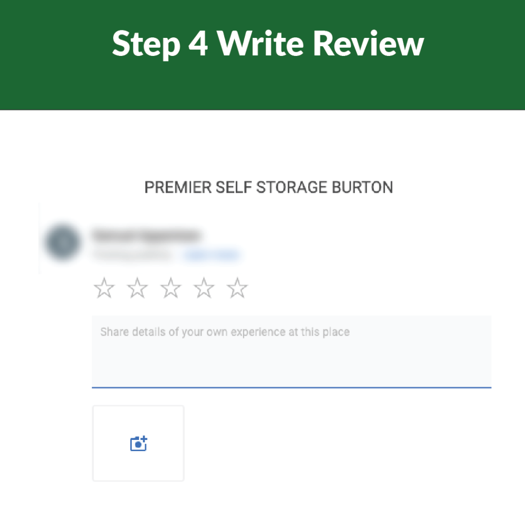 reviewing premier self storage step 4